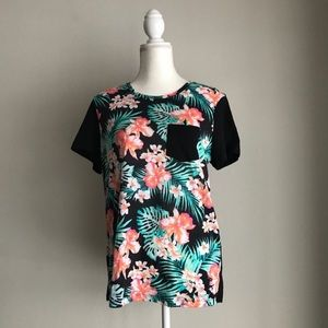 Victoria's Secret VS PINK Tropical T-Shirt Large